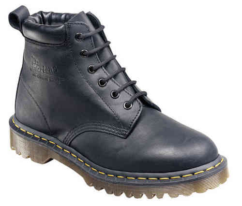 DR. MARTENS 939 BEN BOOT GREASY BLACK NOIR