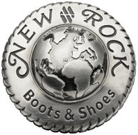 NEW ROCK SHOES & BOOTS MEN'S